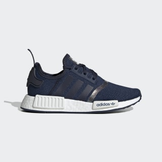 NMD_R1 sko Collegiate Navy / Collegiate Navy / Cloud White FU6672
