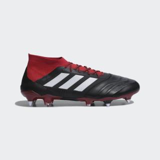Футбольные бутсы PREDATOR 18.1 SG Leather core black / ftwr white / red D96599