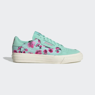 Continental Vulc Shoes Easy Green / Core Black / Semi Solar Pink EF9075