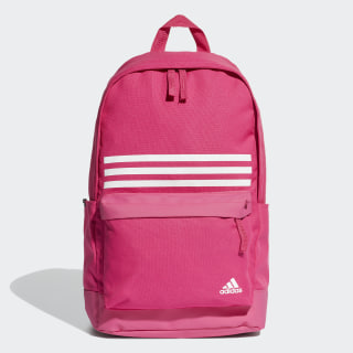 Classic 3-Stripes Pocket Backpack Real Magenta / Real Magenta / White DT2619