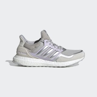 Ultraboost DNA S&L Shoes Grey Two / Silver Metallic / Purple Tint FW8390