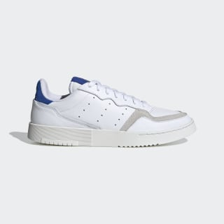 Supercourt Schuh Cloud White / Cloud White / Team Royal Blue EF5885