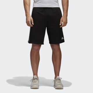 Pantalón corto Essentials 3 bandas Black/White BK7468