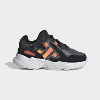 Zapatillas Yung-96 Core Black / Semi Coral / Solar Red EE7562
