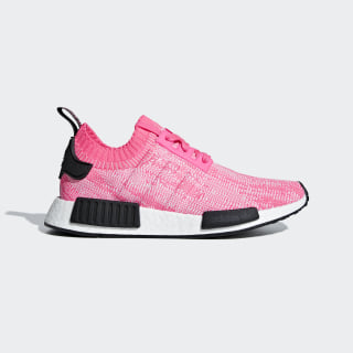 NMD_R1 Primeknit Shoes Solar Pink / Solar Pink / Core Black AQ1104