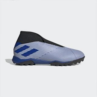 Zapatilla de fútbol Nemeziz 19.3 moqueta Cloud White / Team Royal Blue / Core Black EG7252