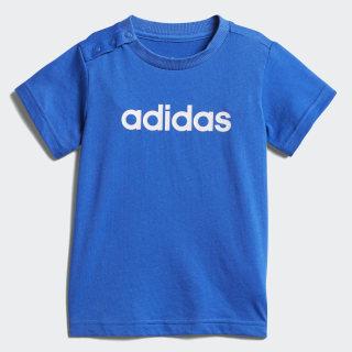Camiseta I Fav Tee BLUE/WHITE DJ1548