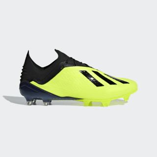 Zapatos de Fútbol X 18.1 Terreno Firme SOLAR YELLOW/CORE BLACK/FTWR WHITE DB2251