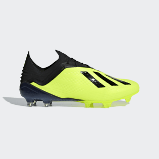 Zapatos de Fútbol X 18.1 Terreno Firme SOLAR YELLOW/CORE BLACK/FTWR WHITE DB2251