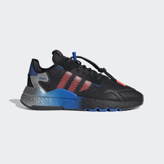 Nite Jogger Schuh Core Black / Trace Grey Metallic / Flash Red FW4275