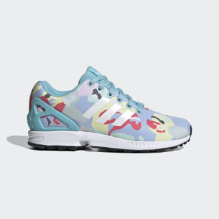 Sapatos ZX Flux Light Aqua / Cloud White / Core Black EG5417
