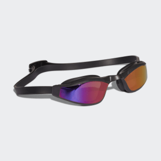 adidas Persistar Race Mirrored Schwimmbrille Black/Black/Tactile Red BR1014