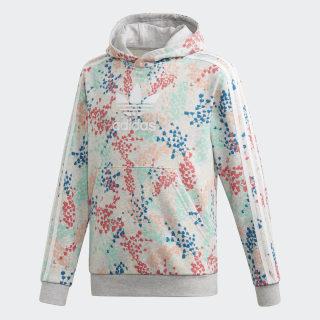 Sweat-shirt à capuche Multicolor / White EJ6329