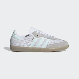 Samba OG Shoes Cloud White / Ice Mint / Grey One CG6108