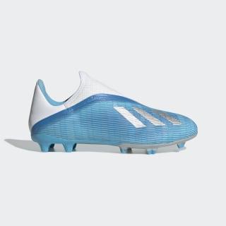 Calzado de Fútbol X 19.3 Terreno Firme Bright Cyan / Core Black / Shock Pink EF0598