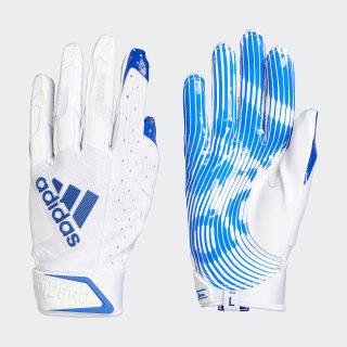 Adizero 9.0 Receiver Gloves White Blue EW5571