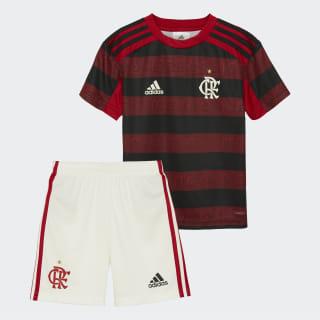 Mini Kit CR Flamengo 1 Top:scarlet/black Bottom:CORE WHITE/SCARLET DW3915