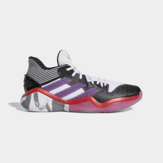 Harden Step-Back Shoes Cloud White / Glory Purple / Core Black EH1995