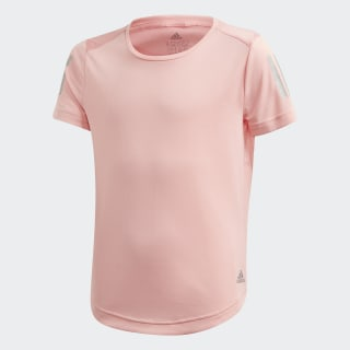 Own the Run Tee Glory Pink / Reflective Silver FM5845