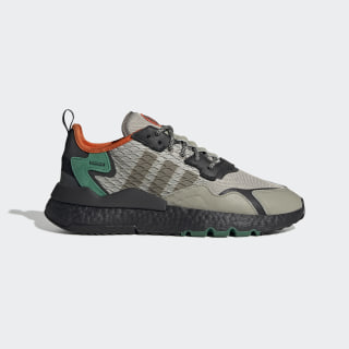 Nite Jogger Shoes Sesame / Core Black / Bold Green EE5569
