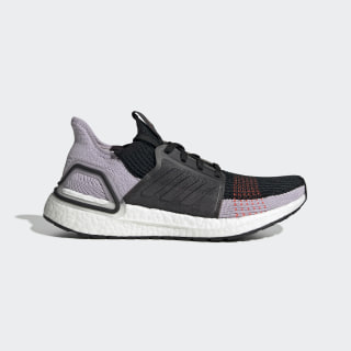 Ultraboost 19 Shoes Core Black / Soft Vision / Solar Red G27489