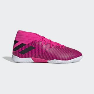 Chuteira Nemeziz 19 3 Indoor Jr shock pink/core black/shock pink F99946
