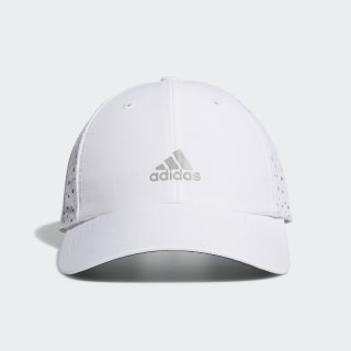 Performance Perforated Cap White / Multi Solid Grey FJ4854