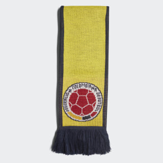 Colombia Home Scarf Bright Yellow / Collegiate Navy CF5205