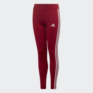Calça Legging Tr Eq3 Stripesl Yg active maroon/white ED6281