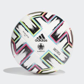 Balón Uniforia League Box White / Black / Signal Green / Bright Cyan FH7376