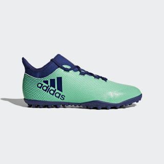 Zapatos de Fútbol X Tango 17.3 Césped Artificial HI-RES GREEN S18/UNITY INK F16/AERO GREEN S18 CP9137
