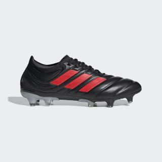 รองเท้าฟุตบอล Copa 19.1 Firm Ground Core Black / Hi-Res Red / Silver Metallic F35518