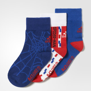 Calcetines de Marvel Spider-Man (3 pares) COLLEGIATE ROYAL/WHITE/MYSTERY INK F17 CD2696