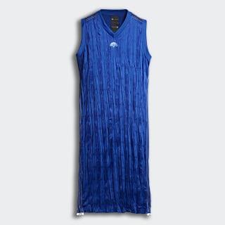 adidas Originals by Alexander Wang Tank Dress Power Blue/White DN0257