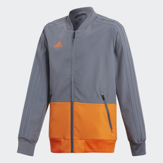 Condivo 18 opvarmningsjakke Grey / Orange CF3706