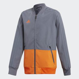 Condivo 18 opvarmningsjakke Grey/Orange CF3706