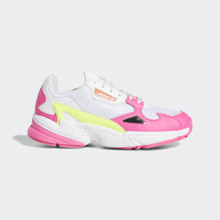 Falcon Shoes Shock Pink / Solar Yellow / Raw White EE4405