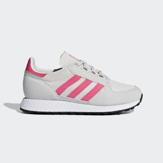 Tenis Forest Grove Chalk White / Real Pink / Grey One B37744