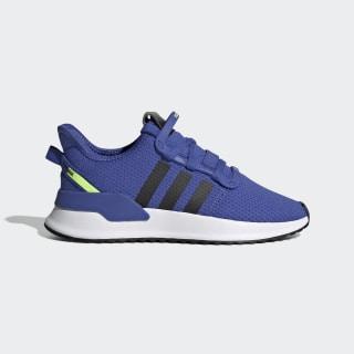 U_Path Run Shoes Active Blue / Core Black / Hi-Res Yellow EE7433