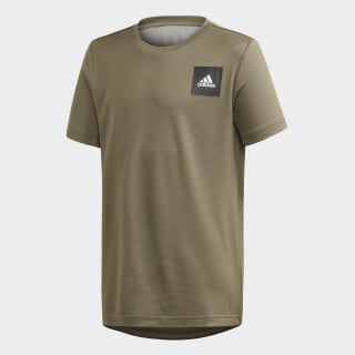 T-shirt AEROREADY Legacy Green / White FM1682