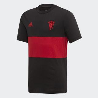 Manchester United Graphic Tee Black EI6361
