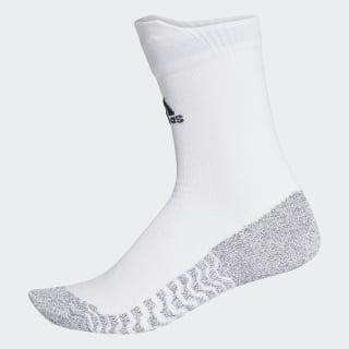 Alphaskin Traxion Ultralight Crew Socks White / Black CG2656