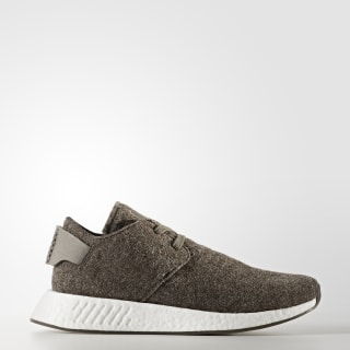 Hommes wings + horns NMD_C2 Shoes Simple Brown/Gum CG3781