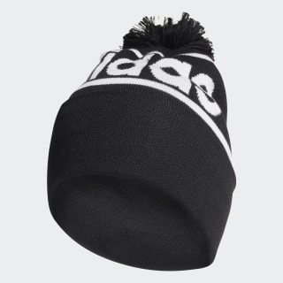 Gorro com Pompom Black / Dark Grey Heather / White ED0239