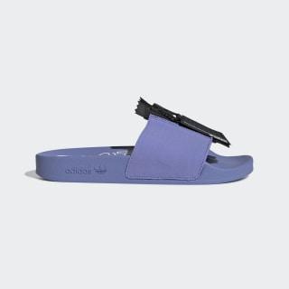 Adilette Zip Slides Chalk Purple / Core Black / Cloud White EE5081