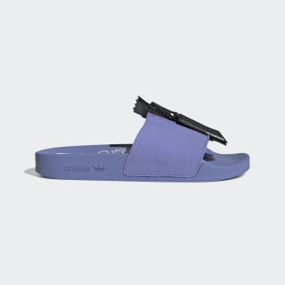 Sandalias Adilette Zip W CHALK PURPLE S18/core black/ftwr white EE5081