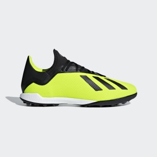 Chaussure X Tango 18.3 Turf Solar Yellow / Core Black / Cloud White DB2475