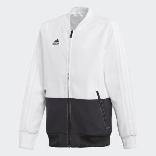Condivo 18 Presentation Jacket White / Black CF4304