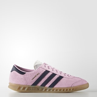Chaussure Hamburg Wonder Pink/Trace Blue/Gum BY9673