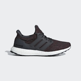 Ultraboost Shoes Carbon / Carbon / Noble Maroon BB6494